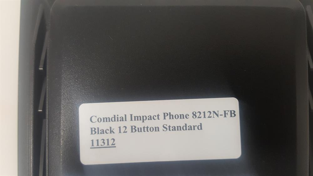 Comdial Impact SCS 8212N-FB 12 Button Digital Telephone image