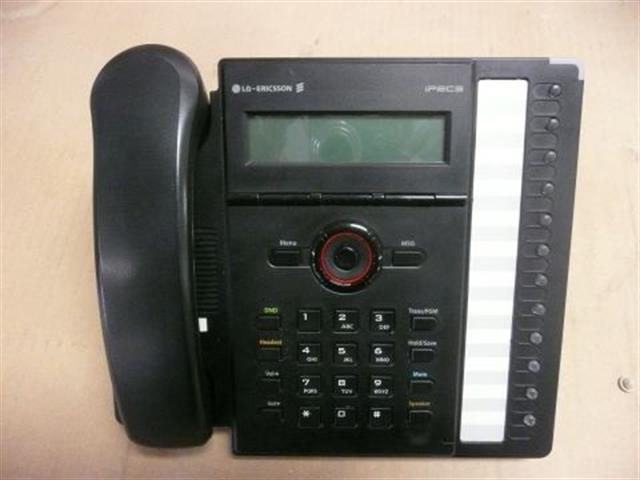 LG-Nortel iPECS LIP-8012D 12 Button VoIP Phone with Backlit Display and Speakerphone for LG iPECs and Vodavi Telenium-IP Systems image