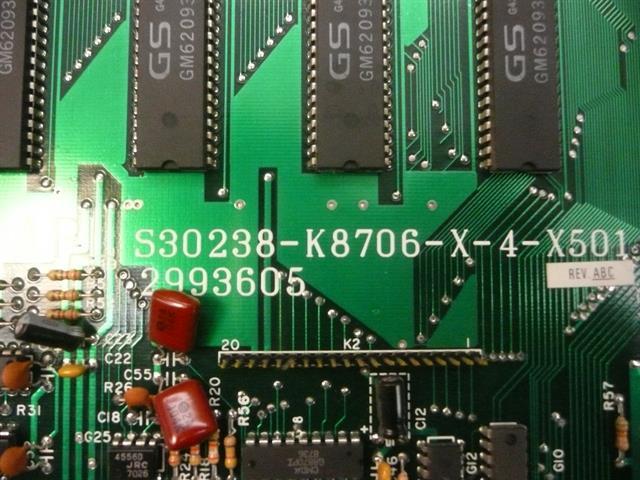 2993605 / S30238-K8706-X-4-X501 Executone- Isoetec image