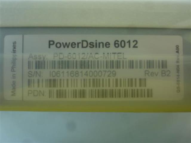 6012 (NIB) PowerDsine image