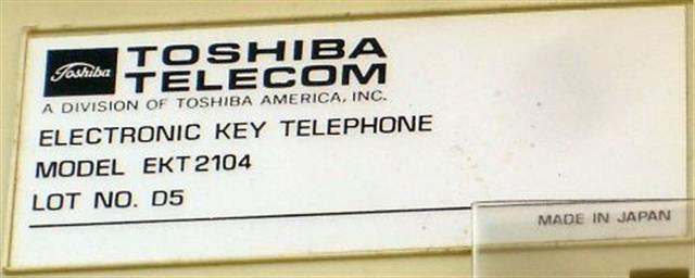 2104 Toshiba image