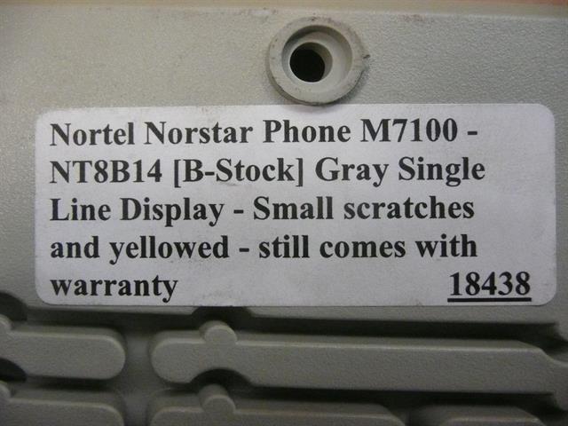 M7100 / NT8B14 [B-Stock] Nortel image