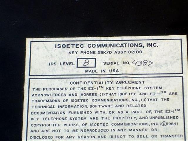82100 - Brown Executone- Isoetec image
