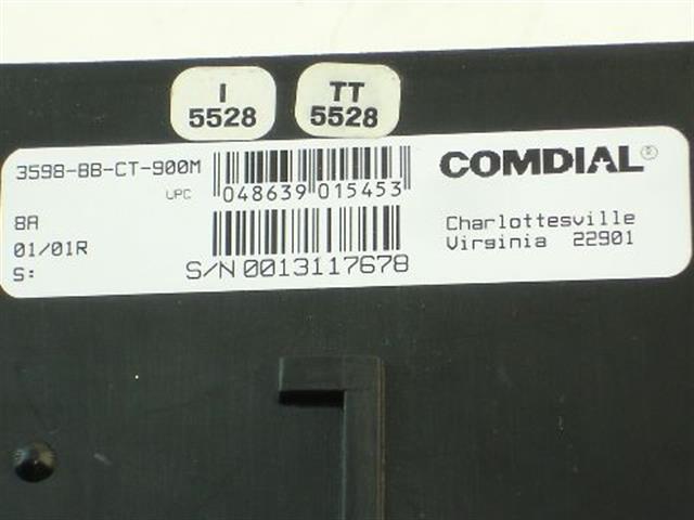 3598-BB-CT-900M Comdial image
