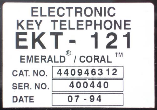 EKT121 - 440946312 (B Stock) Tadiran image