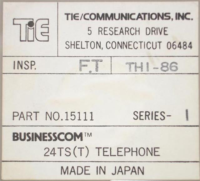 Nitsuko - Tie 15111 (B-Stock) Phone image