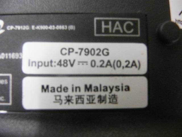 CP-7902G Cisco image