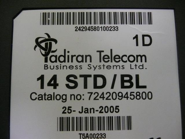 14 STD/BL - 72420945800 Tadiran image