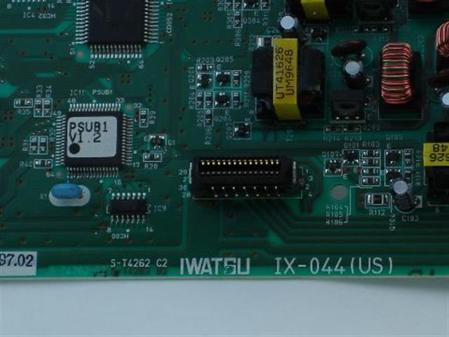 Iwatsu IX-044 040350 4 Port Analog Station by 4 Port Digital Station Circuit Card image