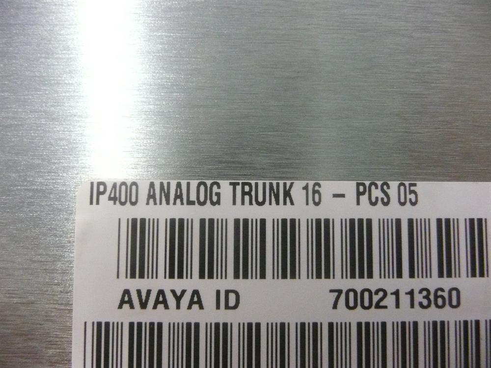 700211360 / AT16 Avaya image