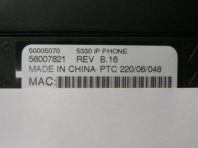 5330 (50005070) Mitel image