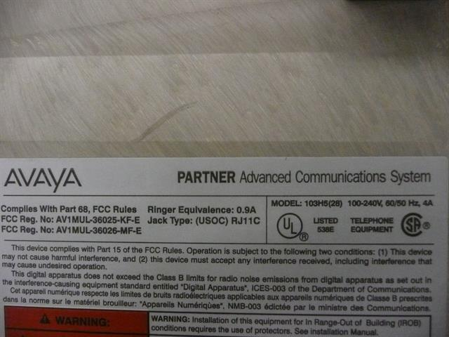 103H5(28) AT&T/Lucent/Avaya image