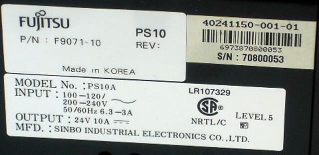 F9071-10 Fujitsu image