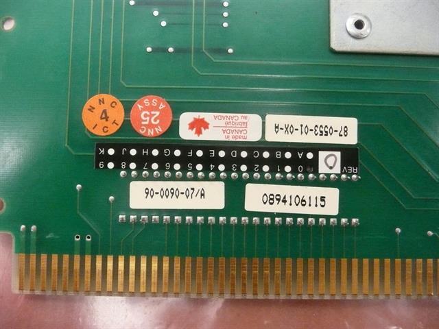 90-0090-07/A / 87-0553-01-0X-A Newbridge image