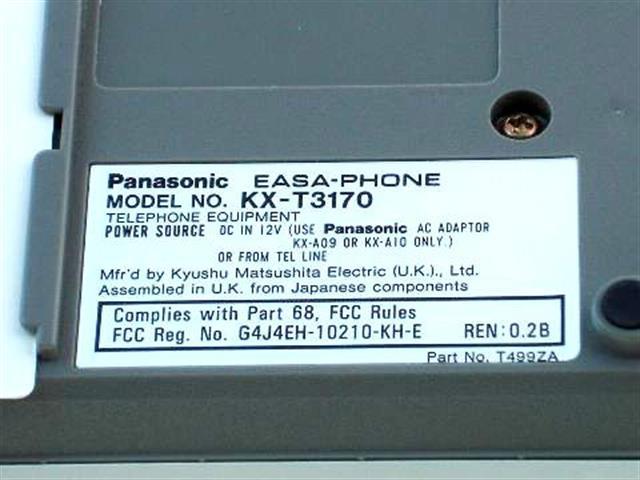 KX-T3170 Panasonic image