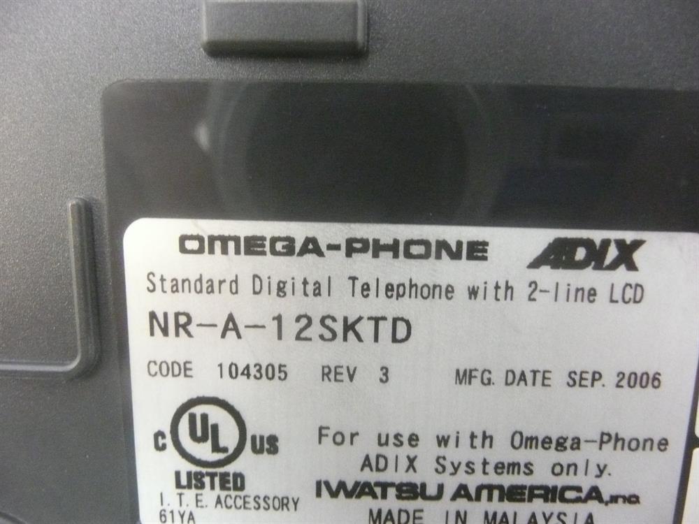 12d (104305) / NR-A-12SKTD Iwatsu image