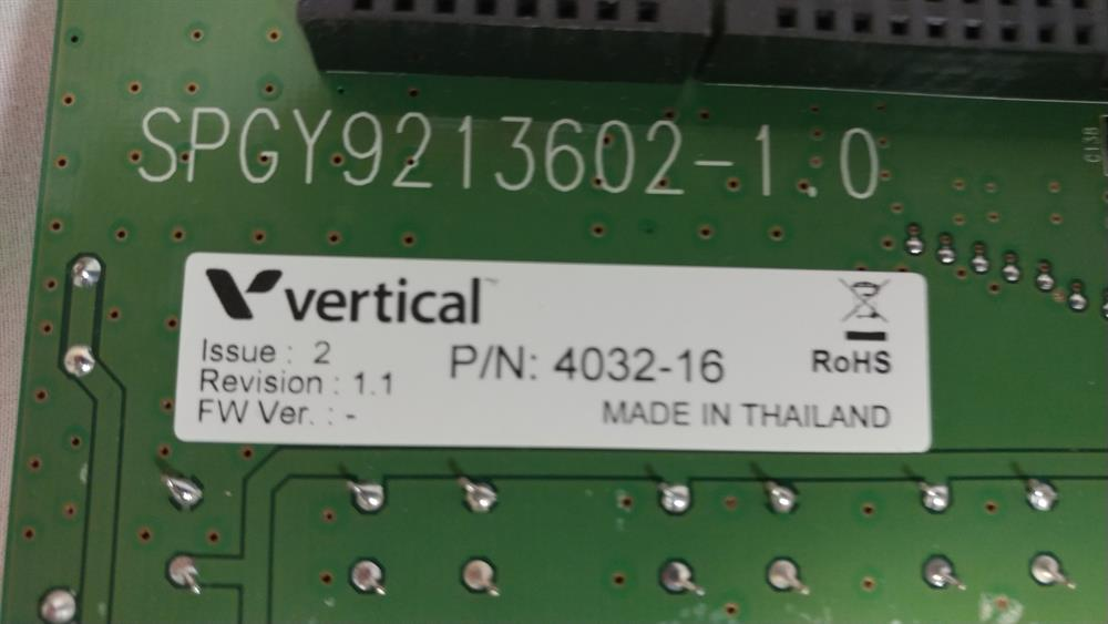 4032-16 - CHIB16 Vertical Communications image