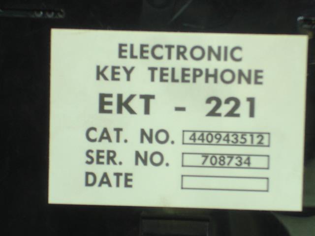 EKT221 - 440943512 (B Stock) Tadiran image