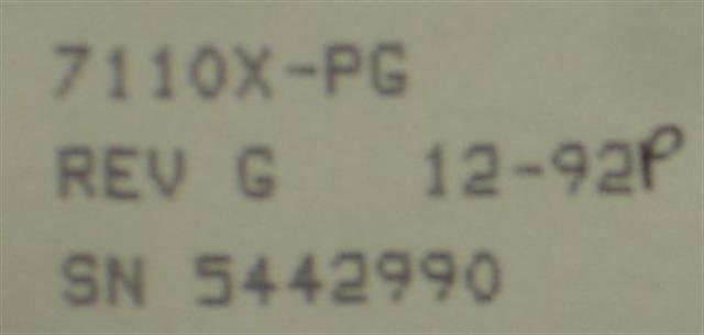 7110X-PG Comdial image