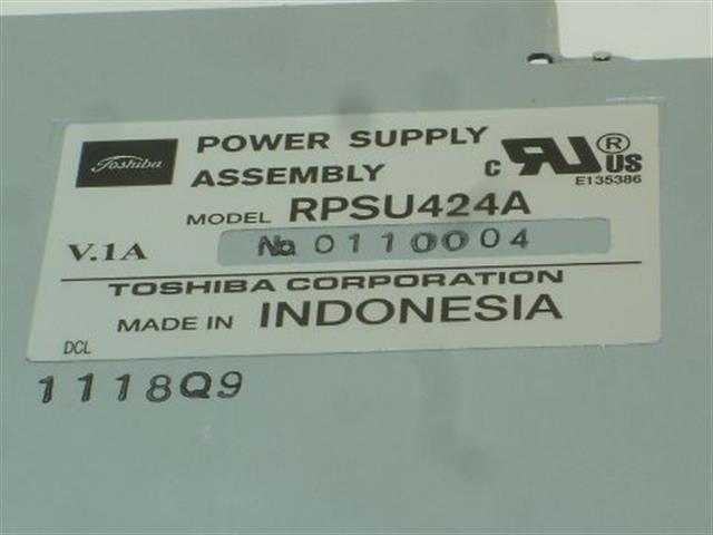 RPSU424A Toshiba image