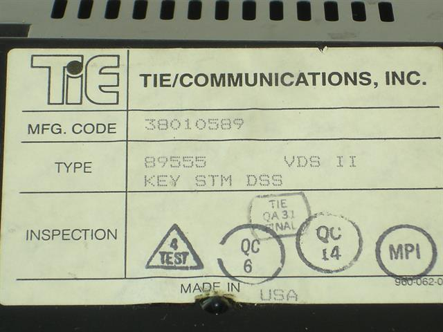 Tie 89555 Module image