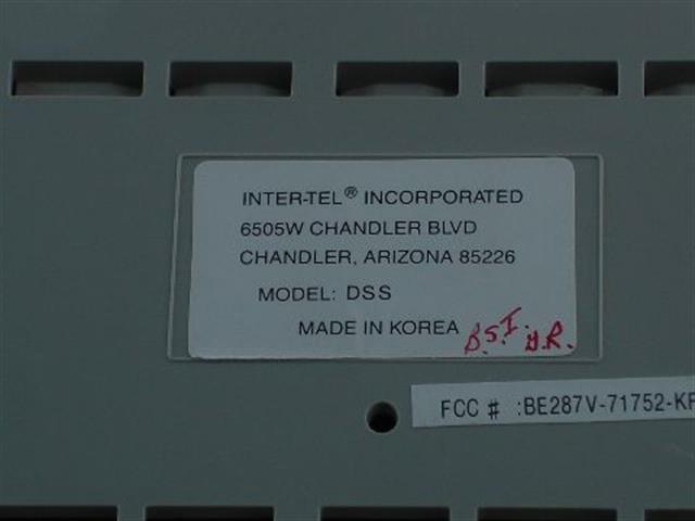 Inter-Tel 662.3300 Console image