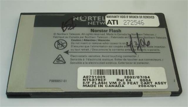 NT5B78EF - A0791009 Nortel-Norstar image