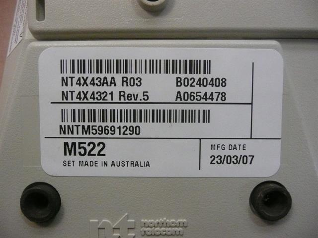 M5216 / NT4X44 - NT4X43AA - M552 Ash Nortel image