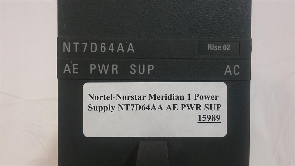 NT7D64AA / (AE PWR SUP) Nortel-Norstar image