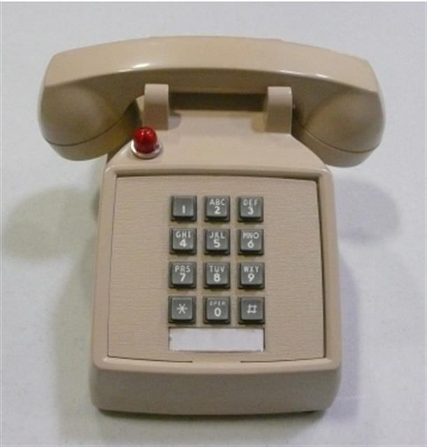ITTCortelco 250044-VBA-27F Phone image