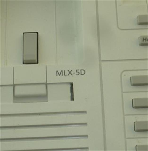 MLX-5D White AT&T/Lucent/Avaya image