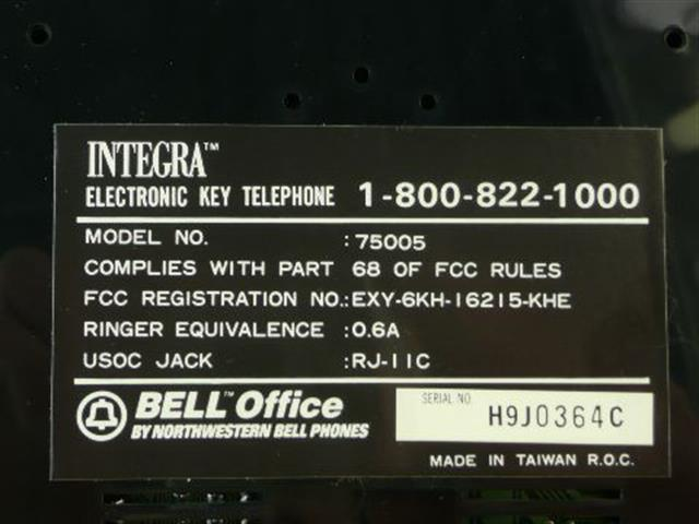 75005 Northwestern Bell image