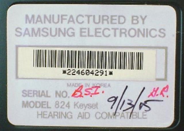 824 DIS 24B (B Stock) Samsung image