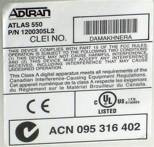 1200305L2 Adtran image