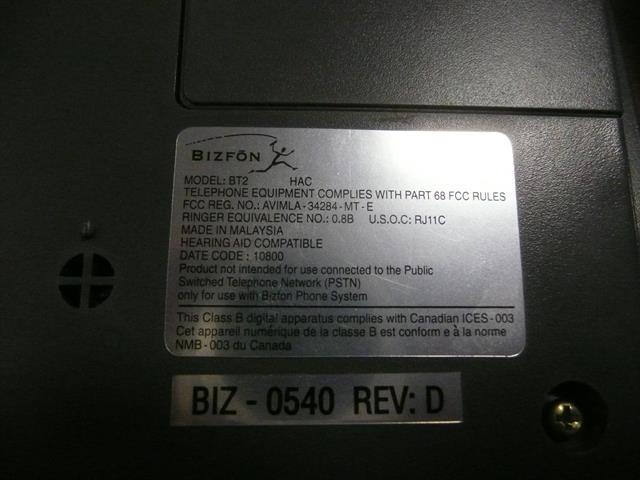 BT2 - Grey BizFon image