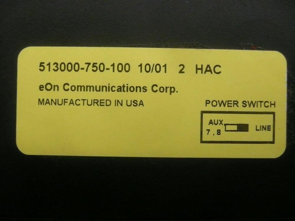 513000-750-100 Black Small Display ITT Cortelco eOn image