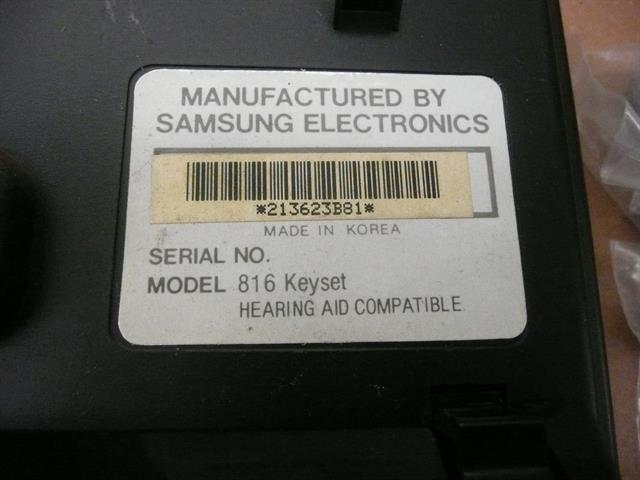 816 DIS 16B Samsung image