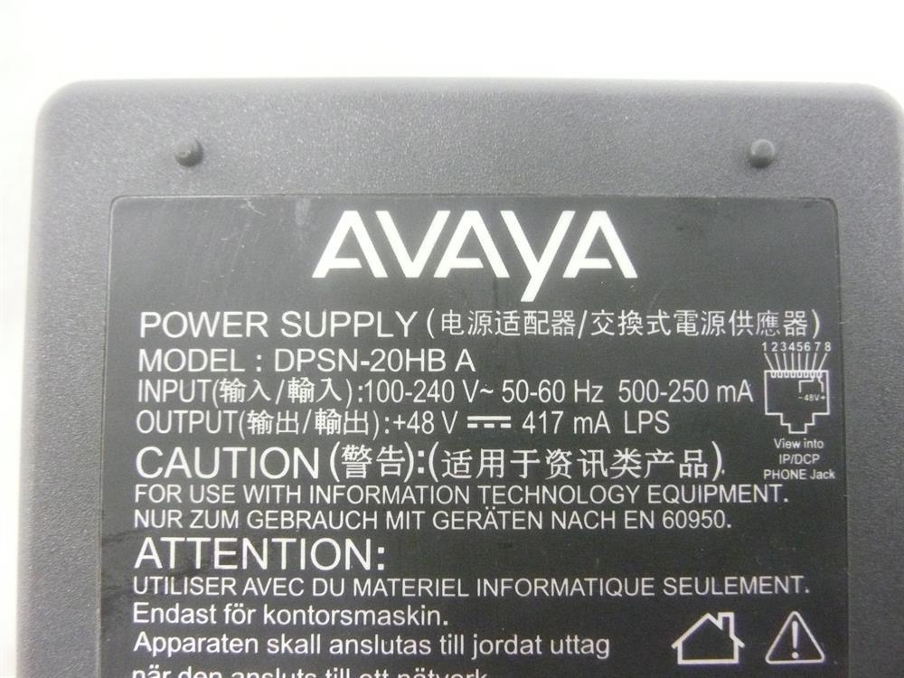 1151C1 / 700356447 / DPSN-20HB-A Avaya image