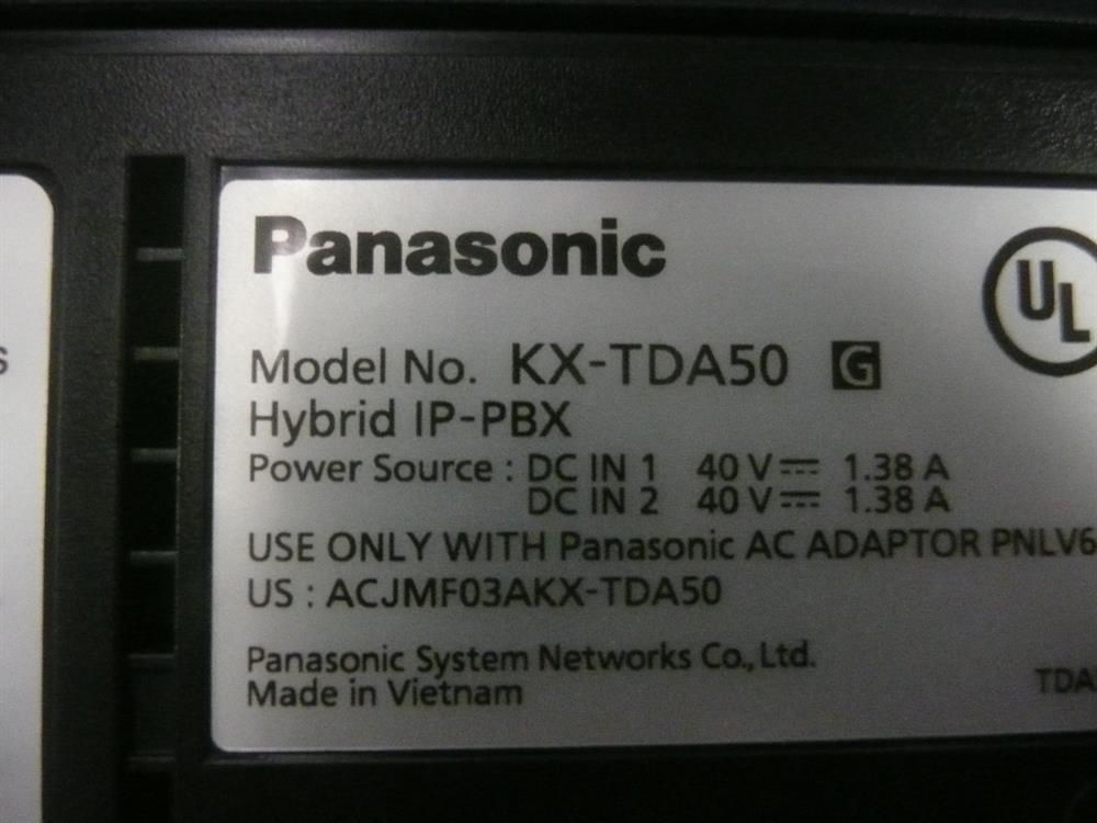 KX-TDA50 Panasonic image