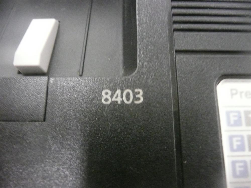 Avaya Definity 8403B 106705106 Black 3 Button Digital Telephone image