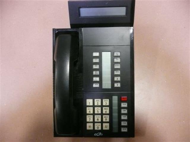 511800-750-100 Black  (NIB) Small Display ITT Cortelco eOn image