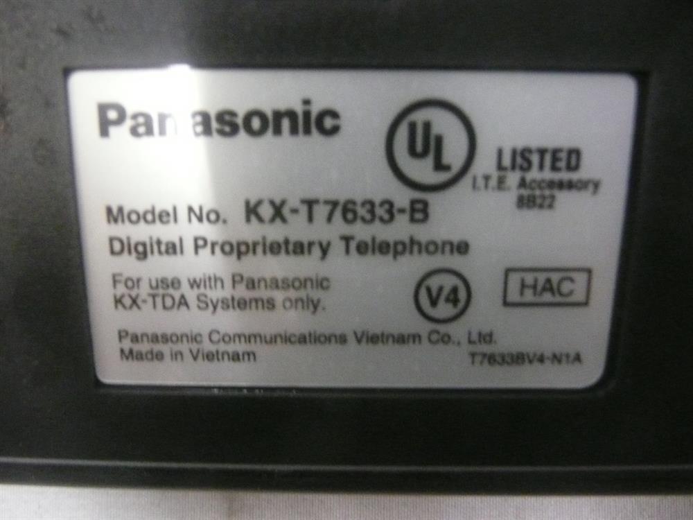 KX-T7633B Panasonic image