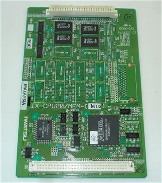 Iwatsu Adix IX-CPU20/MEM-M 101095 v1.0 Software Card image