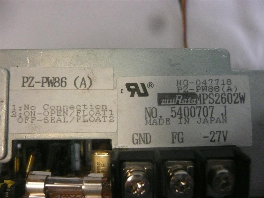 PZ-PW86(A) /  MPS2602W NEC image