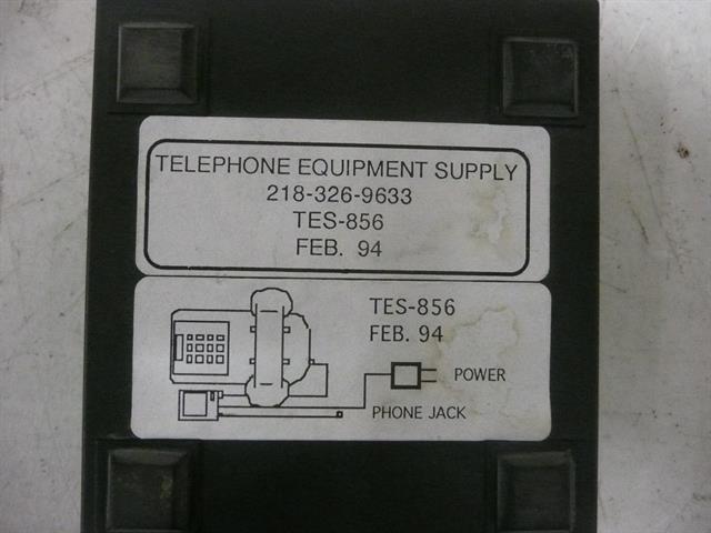 TES-856 Telephone Equipment Supply image
