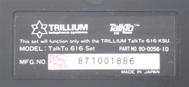 90-0056 (B-Stock) Trillium image