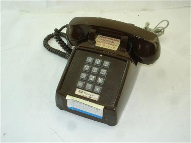 ITT Cortelco eOn 2500-45-BA-20M Phone image