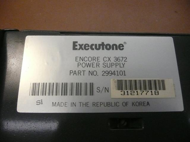 2994101 Executone- Isoetec image