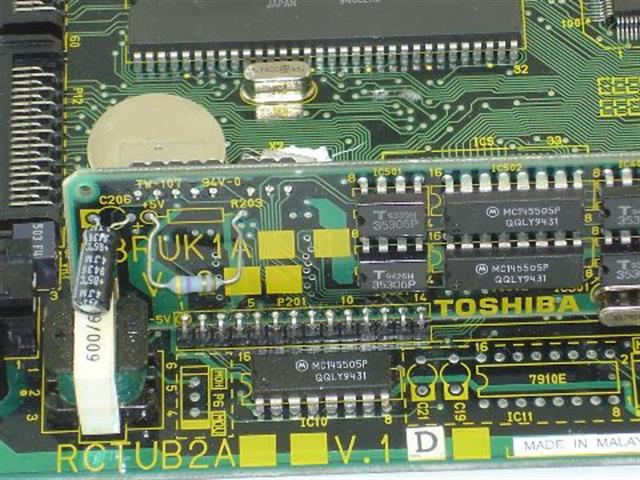 RCTUB2A Toshiba image