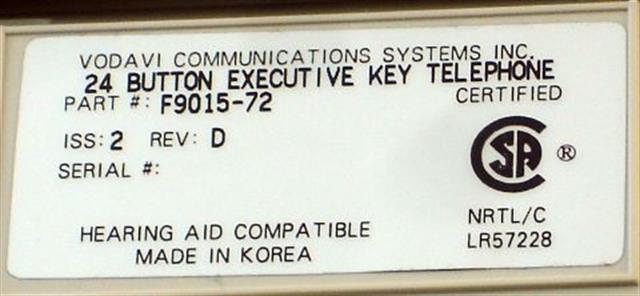 Fujitsu F9015-72 Phone image